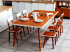 Set Meja Makan Restoran Minimalis Modern