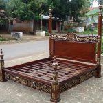 5+ Model Tempat Tidur Ukiran Jati Jepara