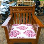 Kursi Tamu Jati Minimalis Model Gambang