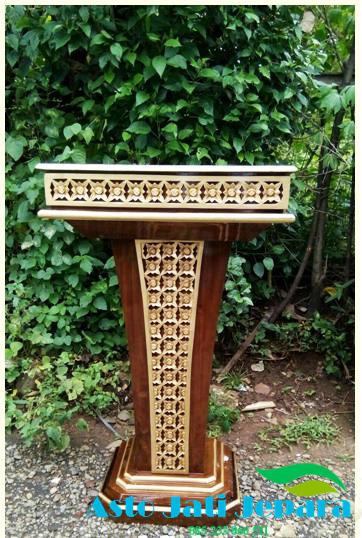 podium-kayu-jati-jepara