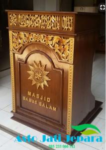 Podium Terbaru Jepara Kayu Jati