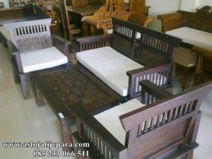 Kursi Tamu Minimalis Murah Model Kawung