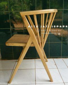 Kursi Cafe Jati Jepara Model Keranjang