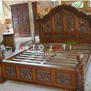 Tempat Tidur Ukiran Gebyok Pengantin Aceh