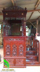 Mimbar Masjid Ukir Jepara Desain Kubah