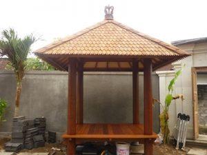 Gazebo gelugu kelapa
