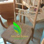 12+ Desain Kursi Cafe Minimalis Jati Jepara