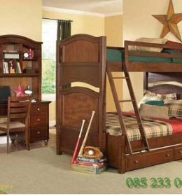Set Tempat Tidur Anak Tingkat Tipe JAF 120