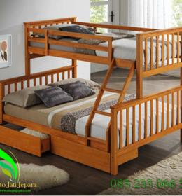 tempat tidur anak minimalis desain tingkat