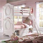 Tempat Tidur Anak Perempuan Duco Putih