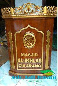 Mimbar Jati Jepara Al-Ikhlas