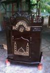 Mimbar Masjid Ukiran Kayu Jati Jepara