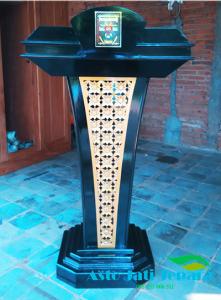 podium logo instansi desain minimalis