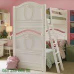 Tempat Tidur Anak Tingkat Putih Duco