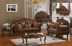 Set Sofa Tamu Mewah Ukir Berkualitas