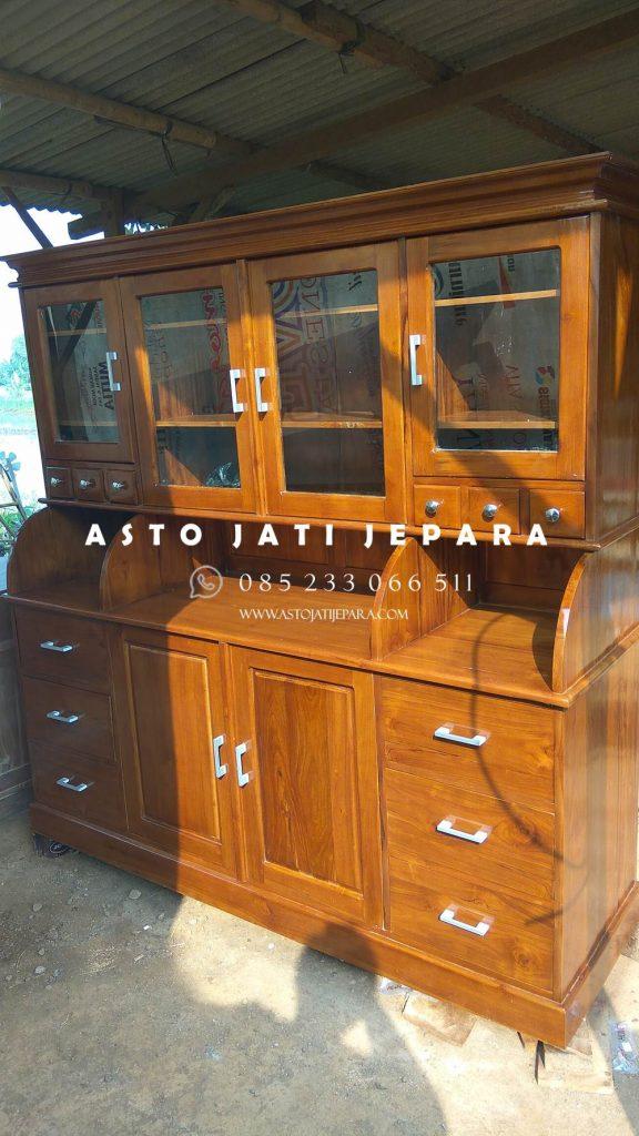 Kitchen Set Jati Jepara
