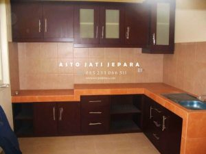 Kitchen Set Kayu Minimalis Modern