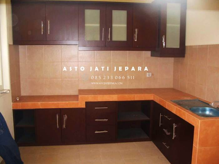 Kitchen Set Kayu Minimalis