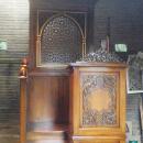 Mimbar Kayu Jati