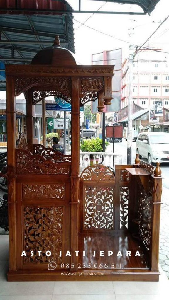 mimbar masjid murah jepara
