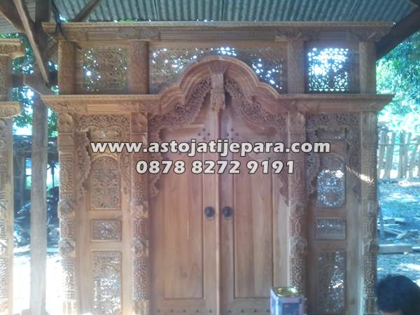 Pintu Gebyok Rumah 3 Meter