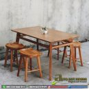 Set Meja Cafe Stool Asto - 237