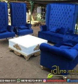 Sofa Tamu Busa Minimalis Queen