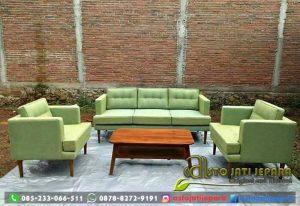 Sofa Tamu Retro Minimalis Asto 222