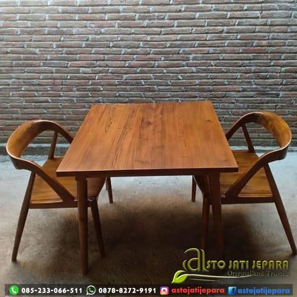 Meja Cafe 2 Kursi Flamboyan Asto - 243