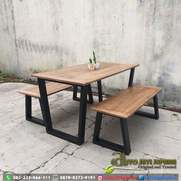 Meja Cafe Panjang Outdoor Asto - 241