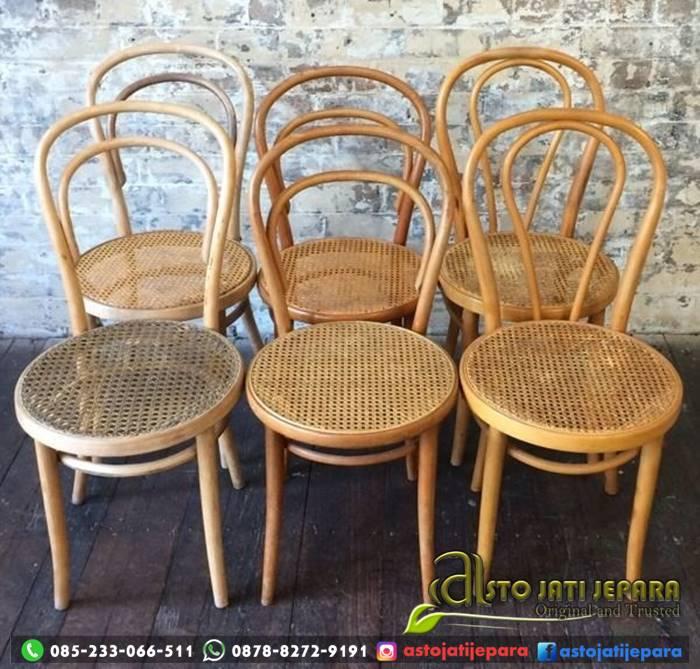 Kursi Cafe Kayu Rotan Umbul Asto - 246