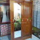 Lemari Baju Pintu Cermin Minimalis ASTO - 300