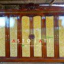 Lemari Pakaian Pintu 6 Mewah Ukiran ASTO - 318