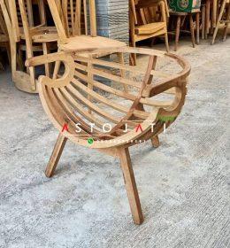 Kursi Cafe Kayu Jati