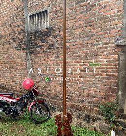 Tiang Bendera Pataka Ukiran Naga ASTO - 338