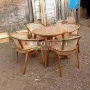 Set Meja Cafe Leo 4 Kursi ASTO - 355